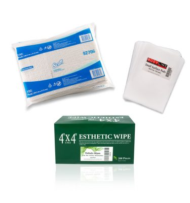 WIPES, BUDS, PADS & MATS